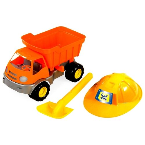 Купить Грузовик ZEBRATOYS 15-10592 36 см оранжевый, Машинки и техника