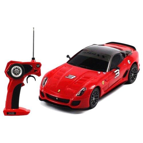 Фото - Легковой автомобиль Xq Ferrari 599XX (XQRC32-2AAA) 1:32 15 см красный xq 100mwt