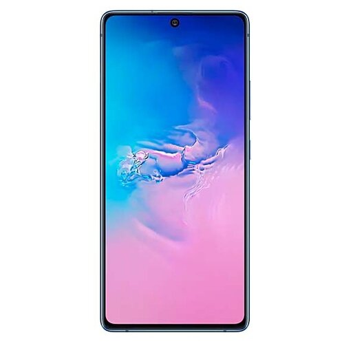 Смартфон Samsung Galaxy S10 Lite 6/128GB синий (SM-G770FZBUSER) смартфон samsung galaxy s10 128 гб аквамарин sm g973fzgdser
