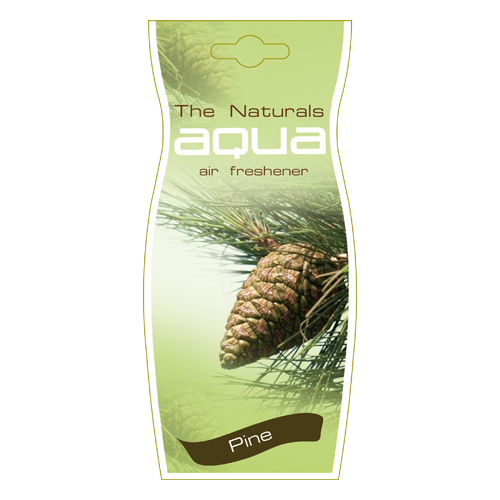 Aqua Ароматизатор для автомобиля Naturals Flower Drop Pine 12 г