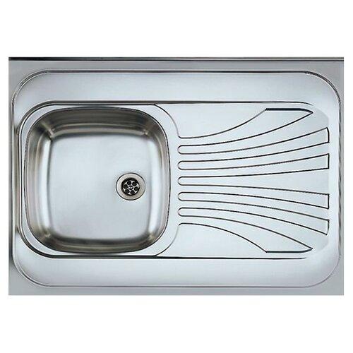 цена на Накладная кухонная мойка 80 см ALVEUS Classic 30 L 1009076 нержавеющая сталь/satin