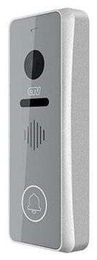 Вызывная (звонковая) панель на дверь CTV D3001 серебро