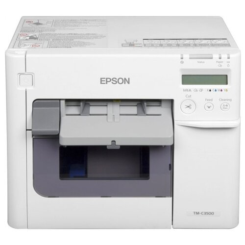 Фото - Принтер этикеток Epson ColorWorks TM-C3500 серый принтер epson c6500ae c31ch77102 colorworks