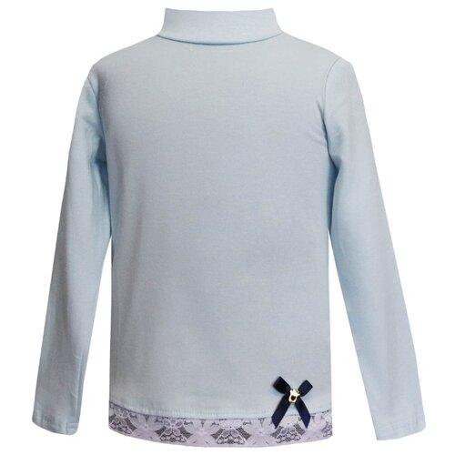 Купить Водолазка KotMarKot размер 134, голубой, Свитеры и кардиганы