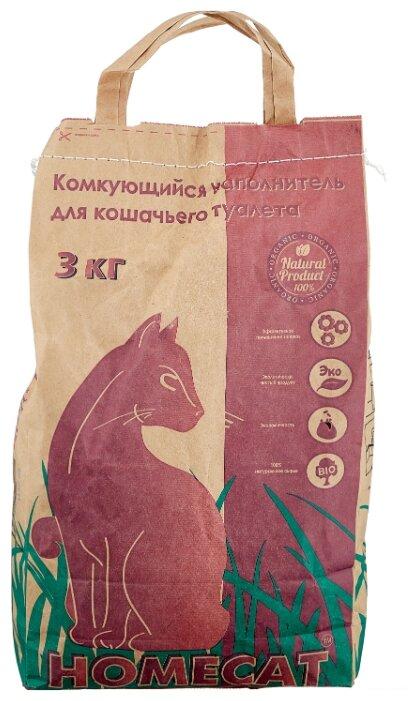 Комкующийся наполнитель Homecat (3 кг)