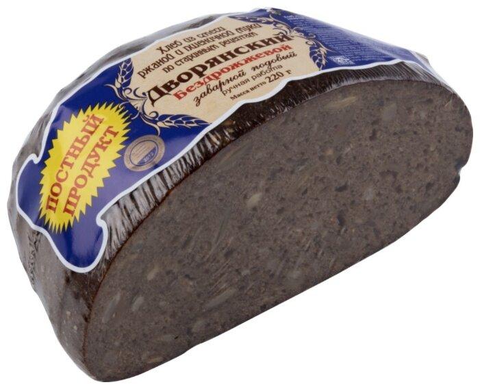 Рижский ХЛЕБ Хлеб Дворянский бездрожжевой заварной подовый 220 г