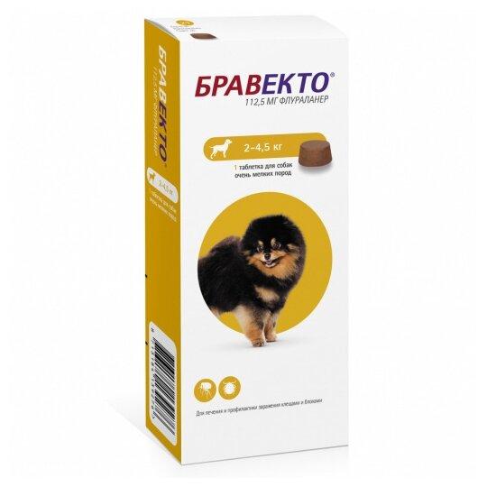 Бравекто (MSD Animal Health) таблетки от блох