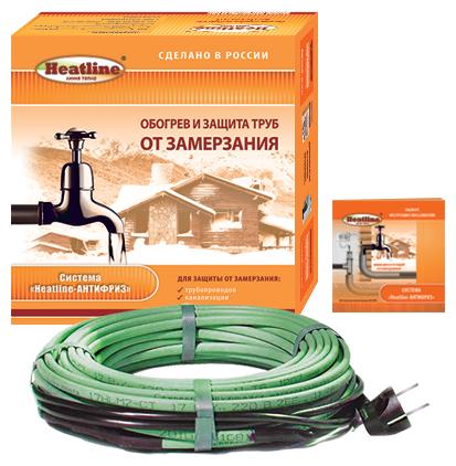 Греющий кабель саморегулирующийся Heatline Антифриз HL-AF-10.0