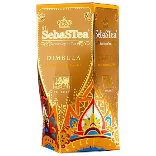 Чай черный SebaSTea Dimbula, 100 г чай листовой зеленый sebastea chinesse dragon 100 г
