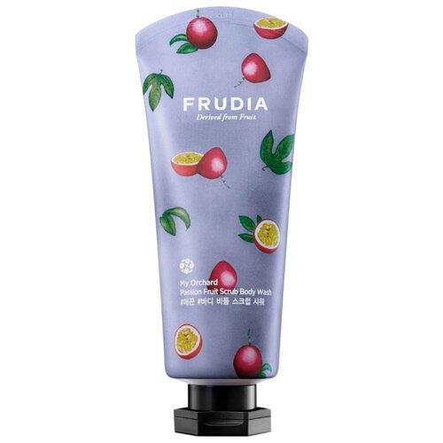 Frudia Скраб для тела My Orchard Passion Fruit, 200 мл frudia тонизирующий гель скраб для душа с маракуйей my orchard passion fruit scrub body wash 200 мл
