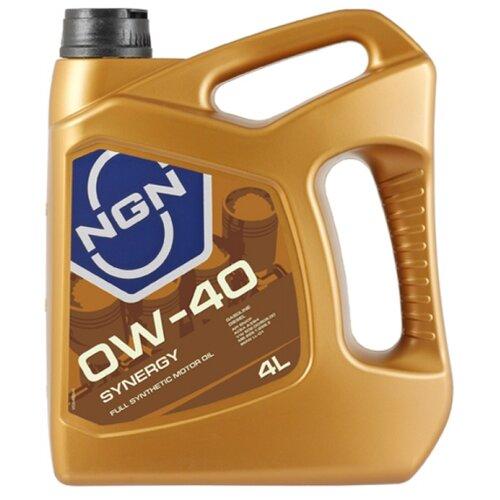 Моторное масло NGN Synergy 0W-40 4 л