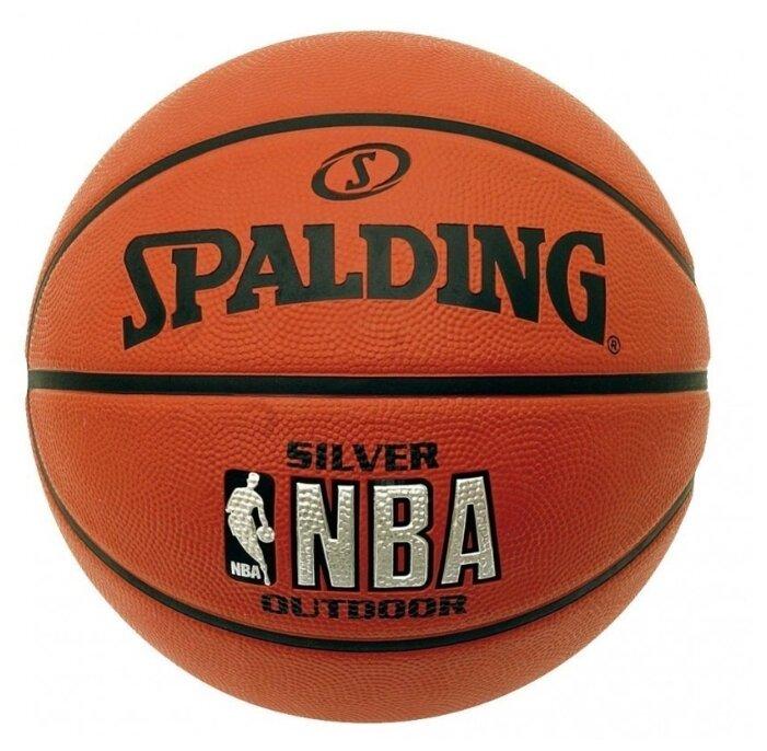 Баскетбольный мяч Spalding NBA Silver, р. 6