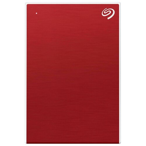 Фото - Внешний HDD Seagate Backup Plus Slim Portable Drive 1 ТБ красный внешний hdd seagate backup plus slim portable drive 1 тб черный