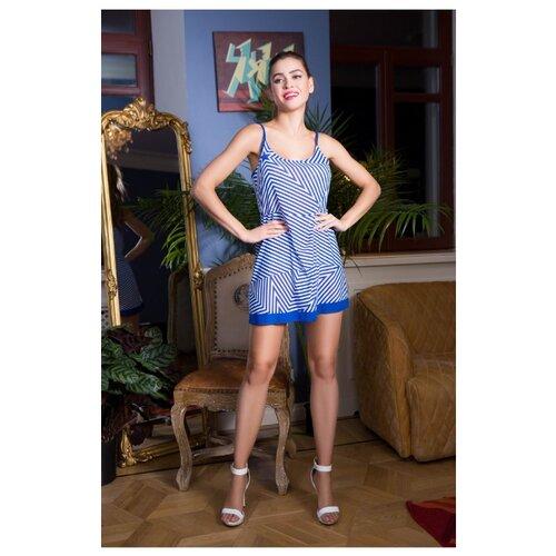 Пляжное платье Mia-Mia размер 42 синий