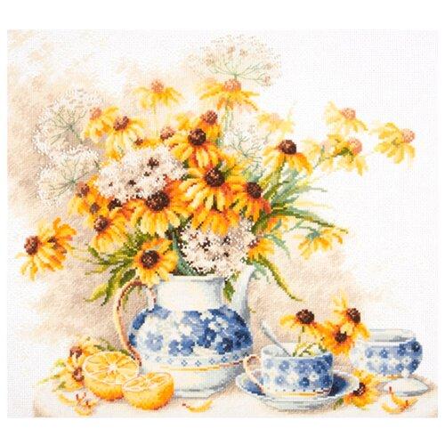 Купить Чудесная Игла Набор для вышивания Цветочный чай 40 х 35 см (50-08), Наборы для вышивания