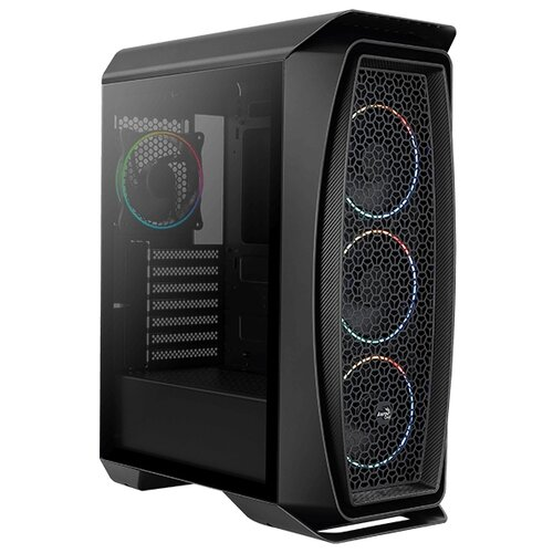 Компьютерный корпус AeroCool Aero One Eclipse Black компьютерный корпус aerocool aero 300 faw black edition