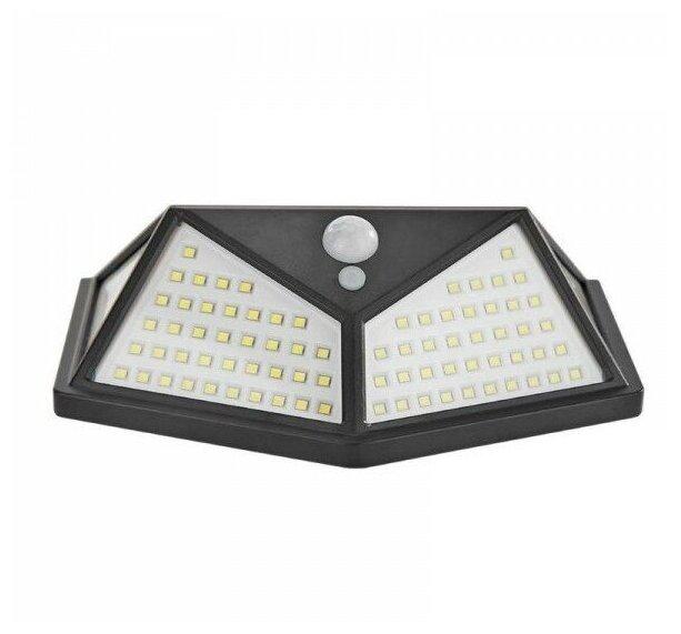 Купить Настенный фонарь светодиодный на солнечной батарее уличный по низкой цене с доставкой из Яндекс.Маркета