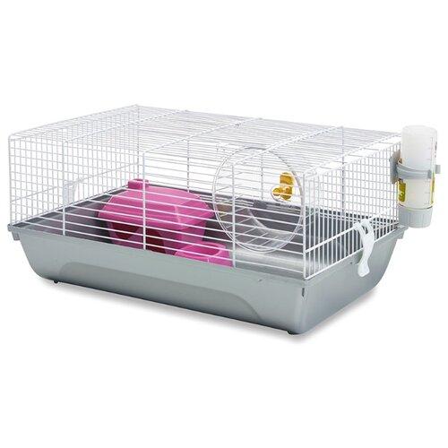 Клетка для грызунов SAVIC Martha Single 5006 46.5х29.5х21 см белый переноска клетка savic dog residence для животных д 122 х ш 76 х в 88 см хром