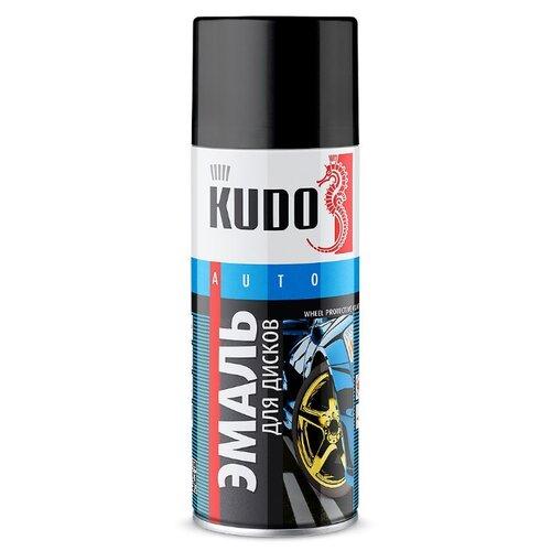 KUDO аэрозольная Эмаль для дисков 520 мл светло-серый