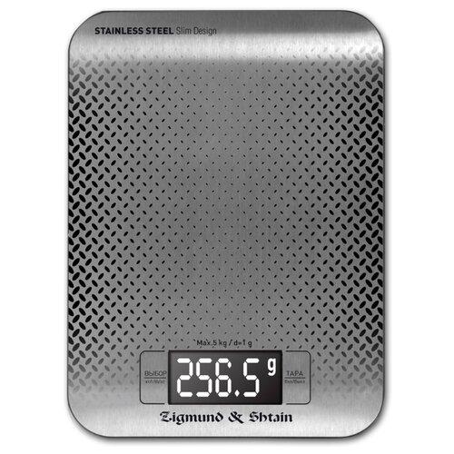 Кухонные весы Zigmund & Shtain Kuchen-Profi DS-115 стальной