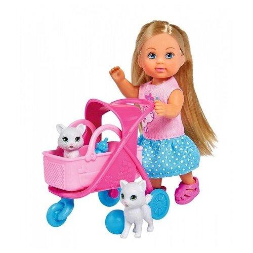 Купить Кукла Simba Еви в котятами, 12 см, 5733348, Куклы и пупсы