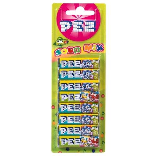 Конфета PEZ Кислючка красящая язык набор 68 г игрушка с конфетами pez вкус ассорти 70 г