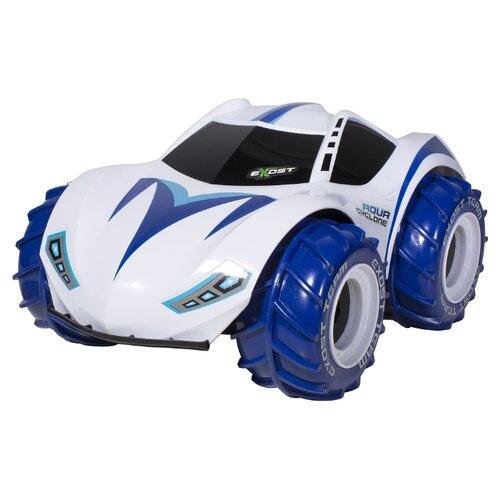 Купить Вездеход EXOST Aqua Cyclone (TE125) 1:10 30 см синий/белый, Радиоуправляемые игрушки