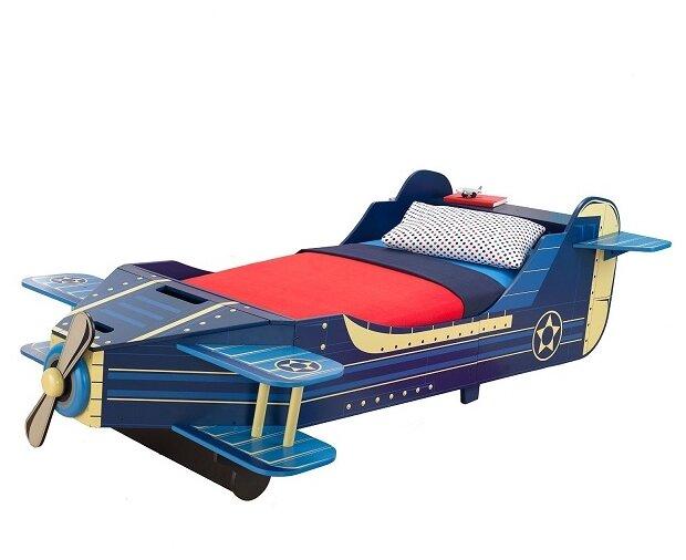 Кровать детская KidKraft Самолет (без белья)