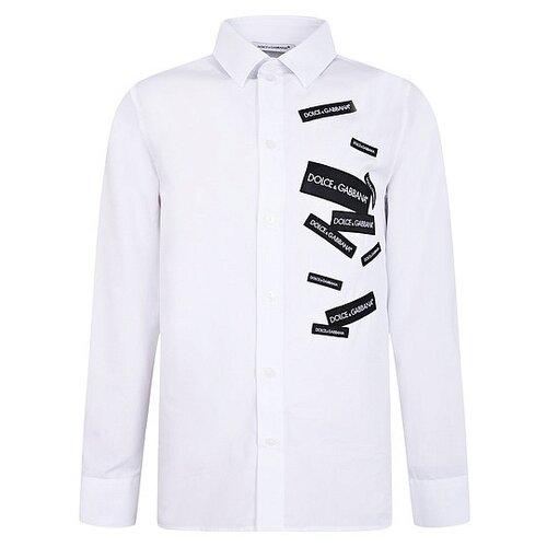 Купить Рубашка DOLCE & GABBANA размер 128, белый, Рубашки