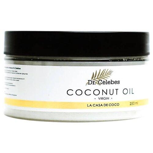 Масло для тела Dr. Celebes Coconut Oil Virgin, 250 мл la tourangelle sesame virgin oil масло кунжутное нерафинированное 250 мл