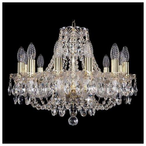 Люстра Bohemia Ivele Crystal 1406 1406/12/160/G, E14, 480 Вт
