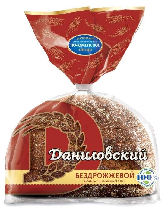 Коломенское Хлеб Даниловский ржано-пшеничный бездрожжевой в нарезке 300 г