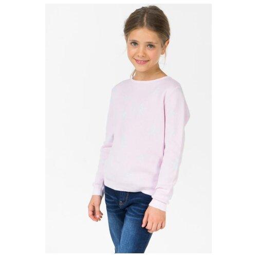 Джемпер Sela размер 128, розовый футболка sela sela se001emdqgz1