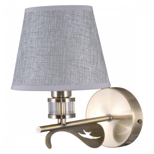 Настенный светильник Natali Kovaltseva 79019/1W Antique, 40 Вт бра natali kovaltseva passion 11360 1w white gold