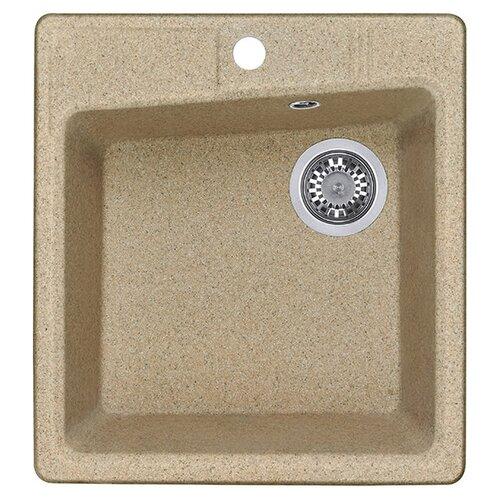 Фото - Врезная кухонная мойка 47 см АКВАТОН Парма песочный кухонная мойка песочный акватон верона 1a710032vr220
