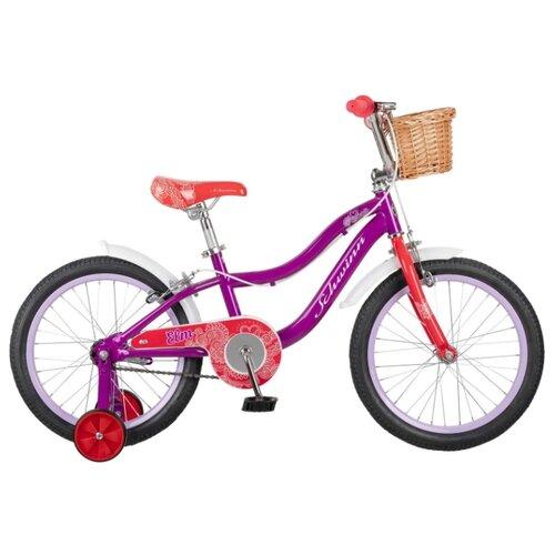 Детский велосипед Schwinn Elm 18 фиолетовый (требует финальной сборки)