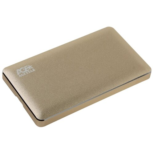 Корпус для HDD/SSD AGESTAR 3UB2A16 золотой