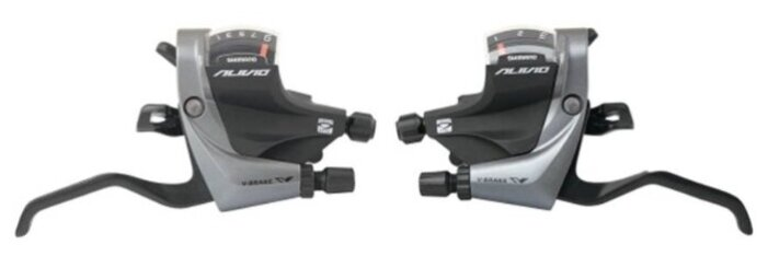 Комплект манеток SHIMANO Alivio ST-M4000 ESTM4000PA