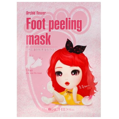The Orchid Skin Маска для для пилинга ступней Orchid Flower Foot Peeling Mask 40 мл пакет