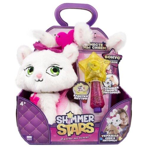 Мягкая игрушка Shimmer Stars котенок Джелли Бин 20 см shimmer stars мягкая игрушка shimmer stars плюшевый котенок 20 см