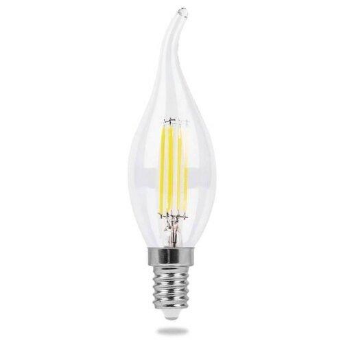 Лампа светодиодная Feron LB-67 25727, E14, C35T, 7Вт лампа светодиодная feron lb 59 25575 e14 c35t 5вт