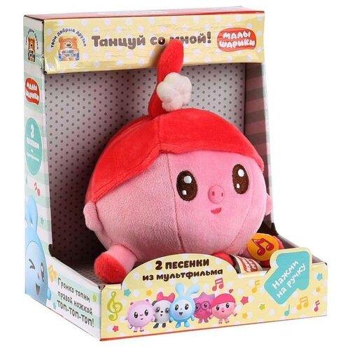 Мягкая игрушка Мульти-Пульти Малышарики Нюшенька 10 см, муз. чип, в коробке мягкая игрушка мульти пульти малышарики барашик 10 см муз чип