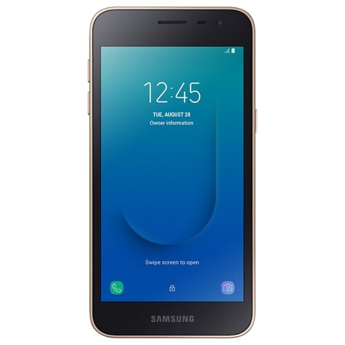 Смартфон Samsung Galaxy J2 Core 16GB золотой (SM-J260FZDSSER) смартфон samsung galaxy a5 2016 4g 16gb black