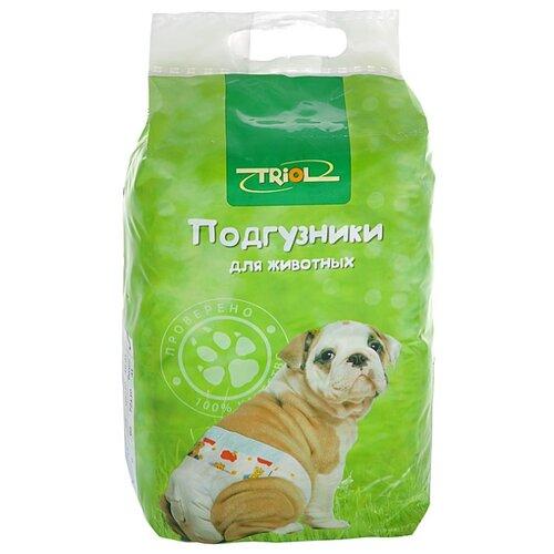 Подгузники для собак Triol 10541002 Размер S 41.5 см 20 шт.