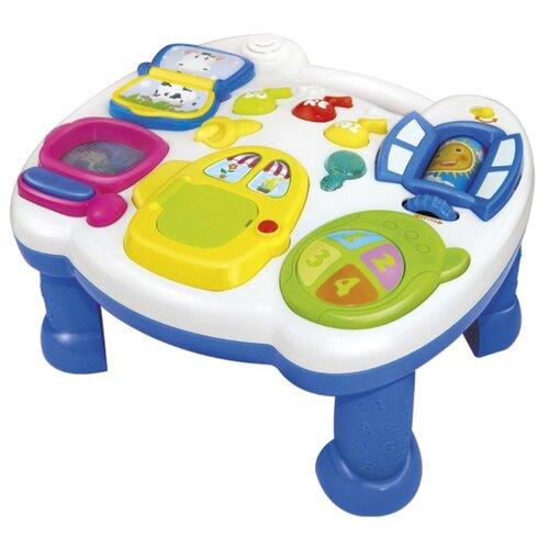 Интерактивная развивающая игрушка Mommy Love Игровой центр WD3629 белый/голубой фото
