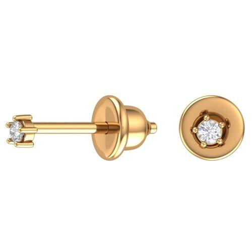 Фото - POKROVSKY Золотые серьги пусеты миниатюрные 6001186-00770 pokrovsky золотые серьги переливы 2100926 00770