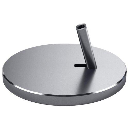 Док-станция для телефона Satechi Aluminum Lightning Charging Stand серый