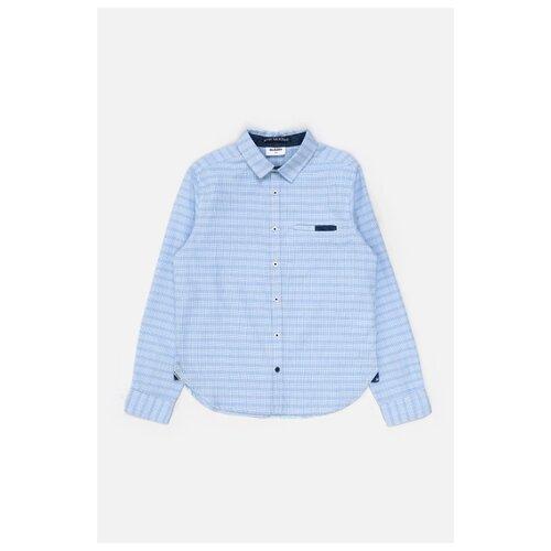 Купить Рубашка Acoola размер 164, голубой, Рубашки