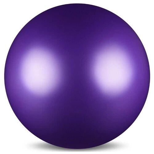 цена Мяч для художественной гимнастики Indigo AB2803 фиолетовый онлайн в 2017 году