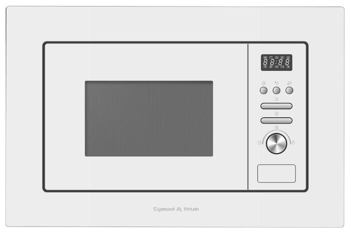 Микроволновая печь встраиваемая Zigmund & Shtain BMO 16.202 W — купить по выгодной цене на Яндекс.Маркете